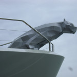 Cat Full Scale Yacht Figurehead - Aluminum Shell